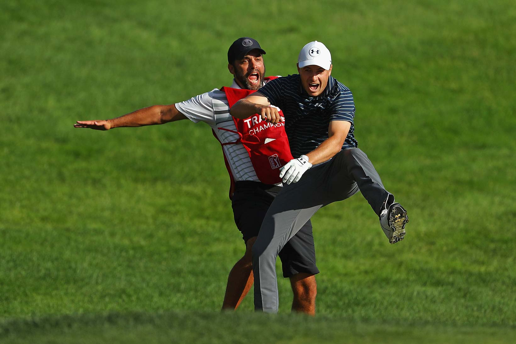 2017 Travelers Championship: Final Round - Chest Bumps