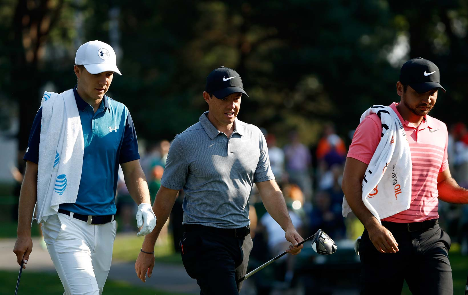 2017 WGC Bridgestone Invitational: Round 1 - Jordan, Rory and Jason Walk Off the Tee Box