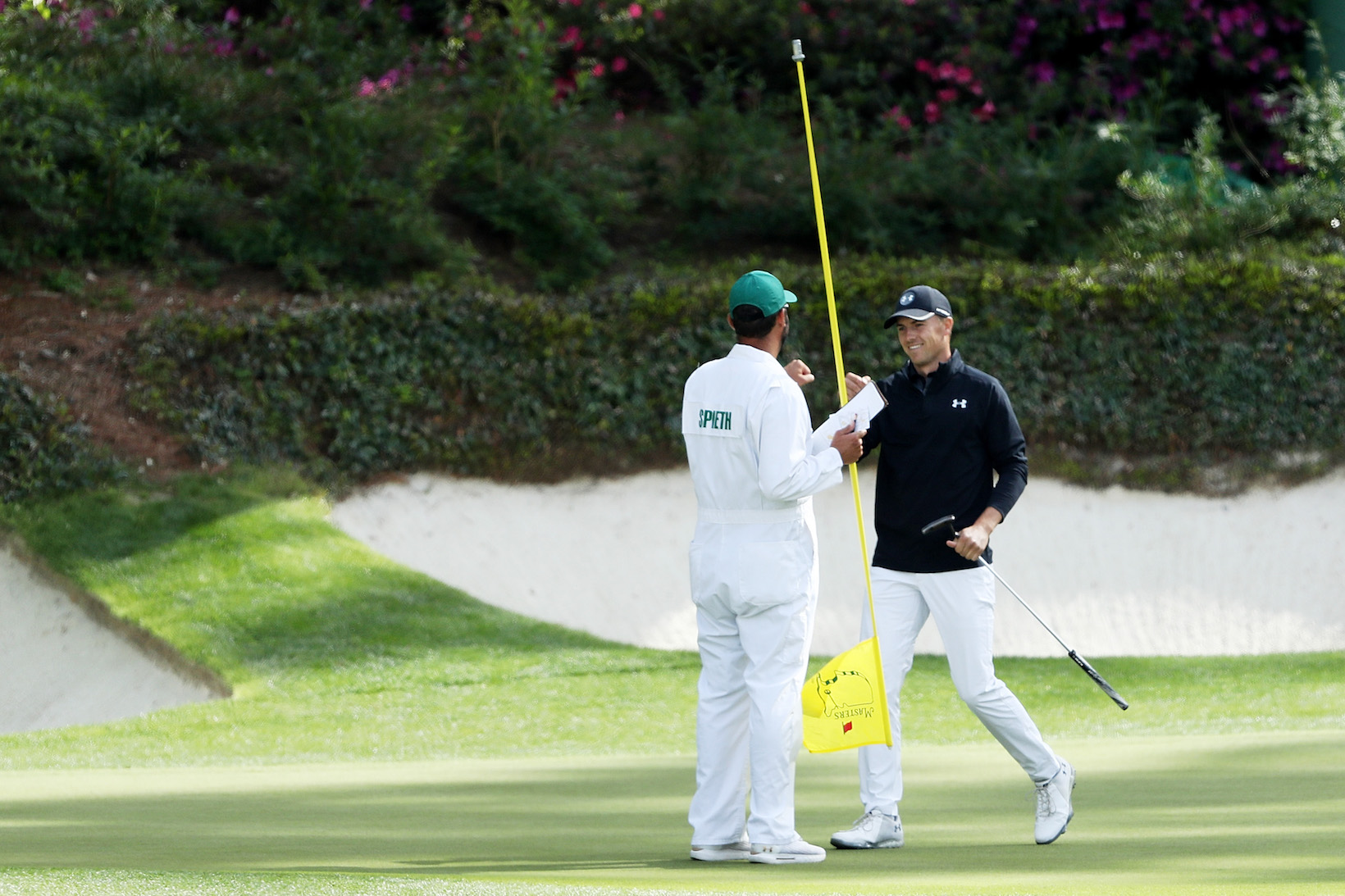 2018 Masters Tournament: Final Round - Birdie on No. 12