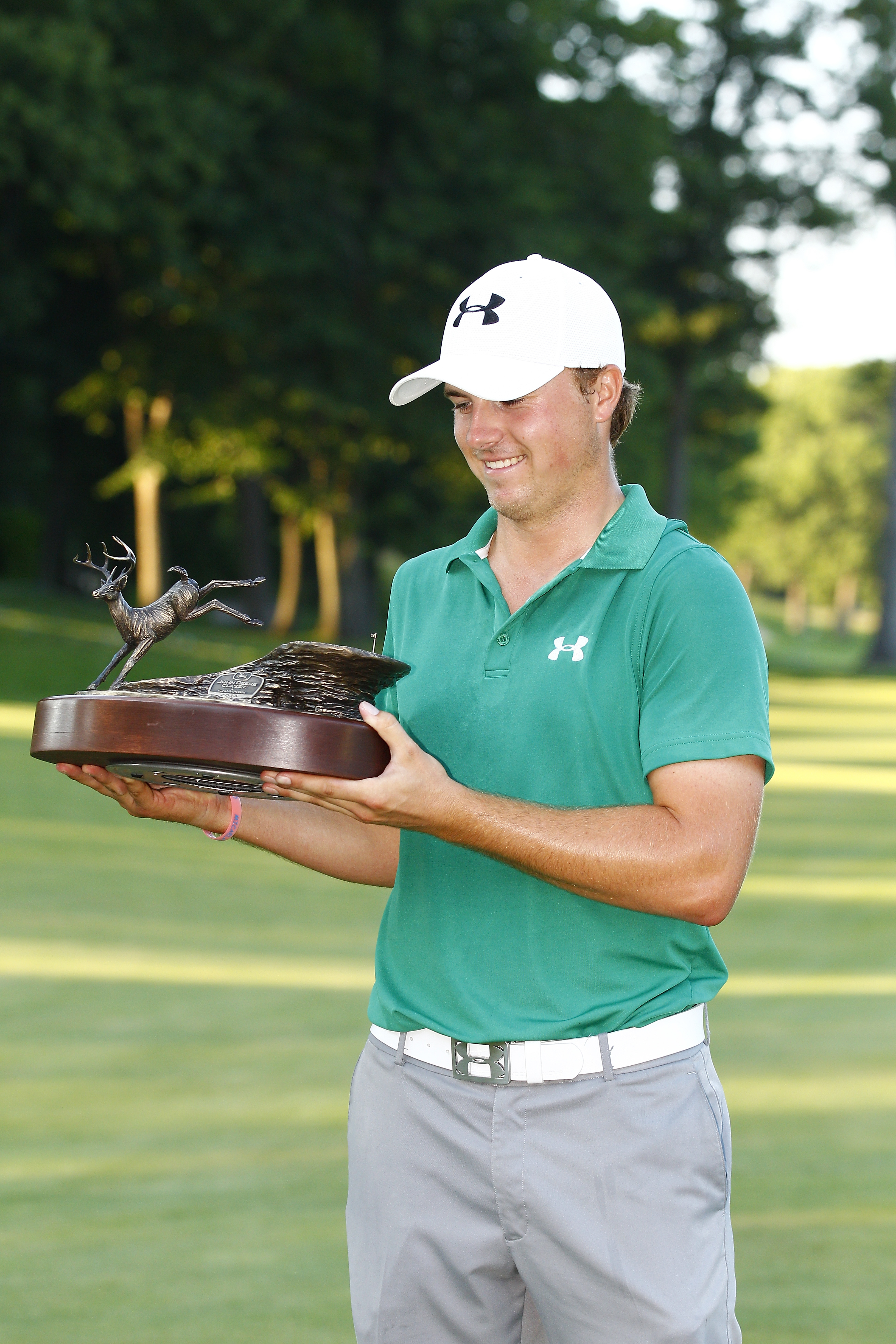 Jordan Spieth at the John Deere Classic