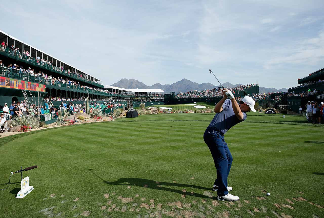 Jordan spieth at 2015 waste management pro am