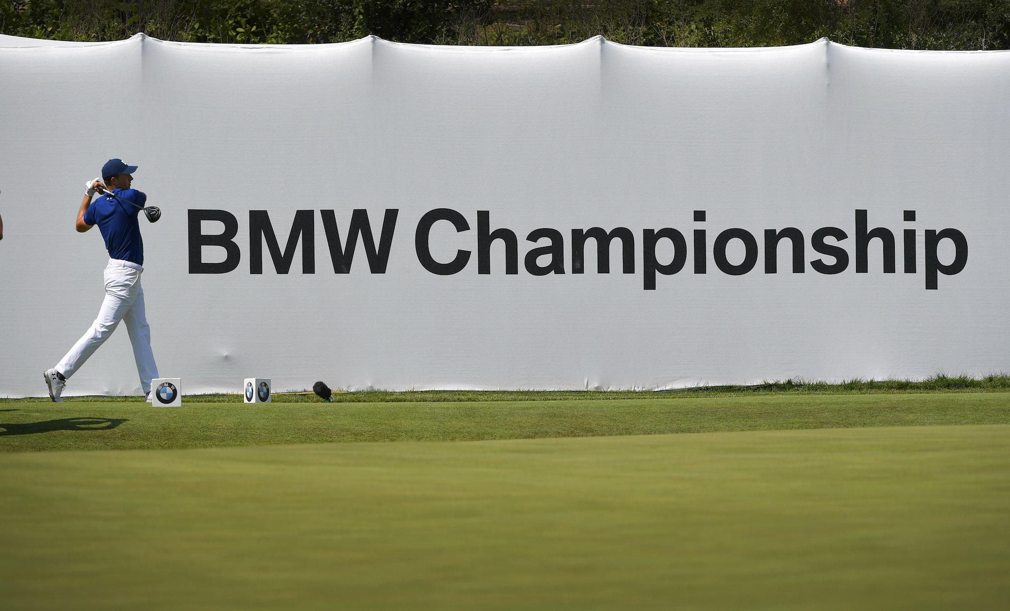 2018 BMW Championship: Round 1 - Teeing Off on No. 18