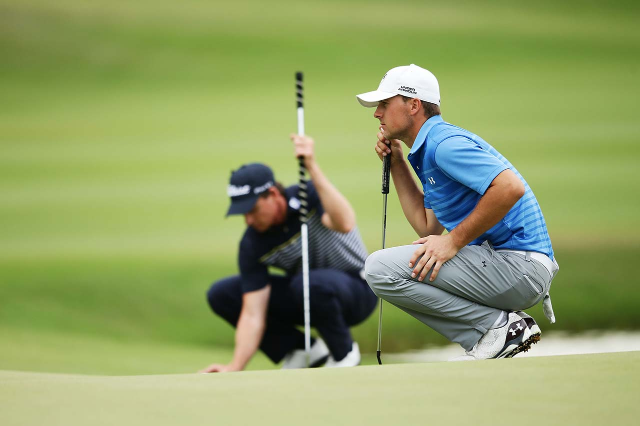 Jordan Spieth at the 2014 Emirates Australian Open