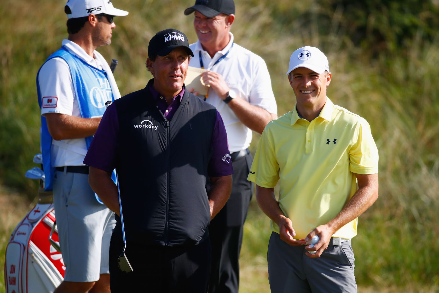 2017 Open Championship: Preview Day 2 - Jordan Chats with Phil Mickelson